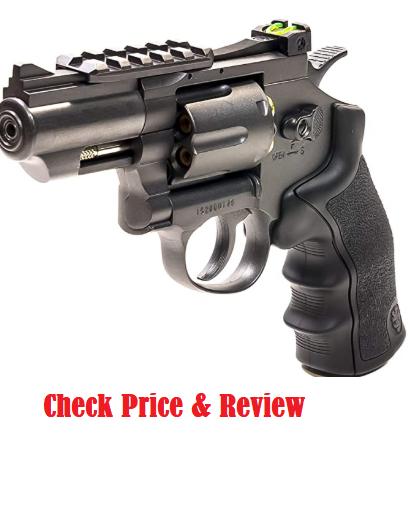 Black Ops Exterminator Revolver Hunting Air Pistol