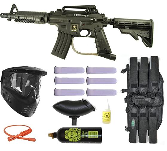 Tippmann Alpha Elite US Army Paintball Marker Gun Review
