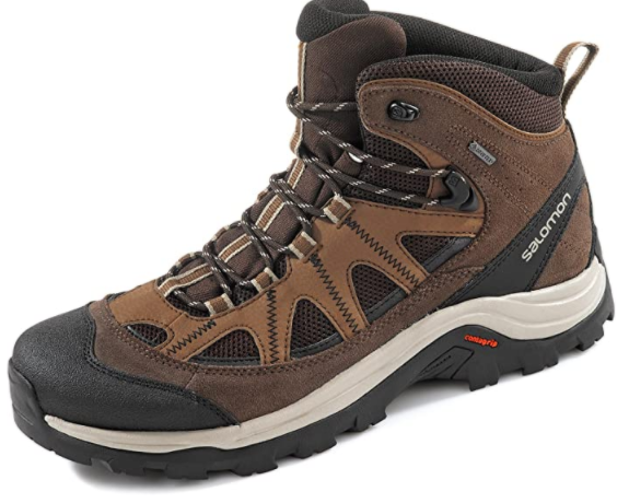 Salomon Men's Authentic Leather & GORE-TEX Backpacking Boots reviews
