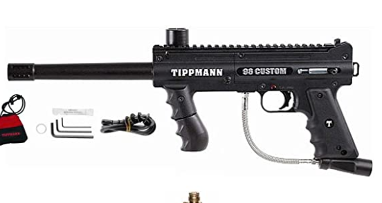 Tippmann PLATINUM 98 Custom Paintball Gun Package Reviews