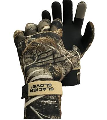 Glacier Glove Pro Waterfowler Waterproof Neoprene Gloves