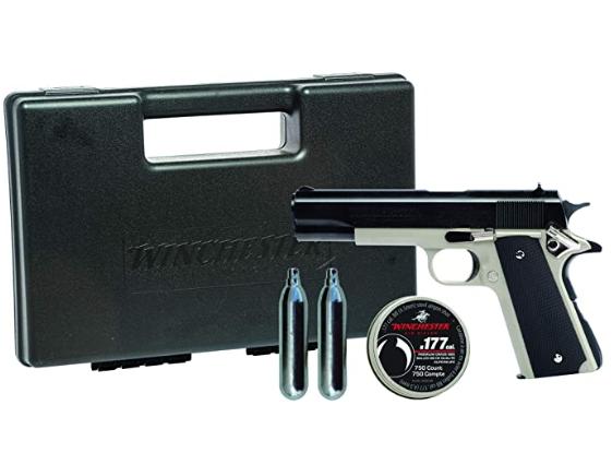 Crosman Vigilante CO2 Pellet & BB Revolver