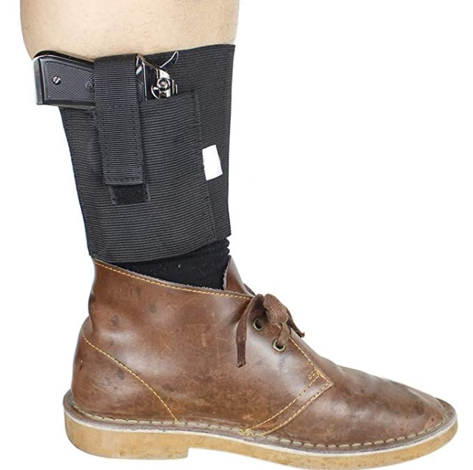 Gexgune Ankle Holster for Concealed Carry Fits Ruger